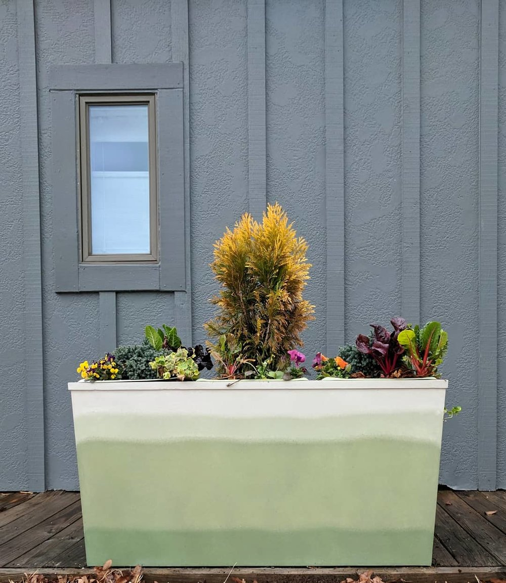 Custom Planter - Located at Urban Cottage Duck, NC