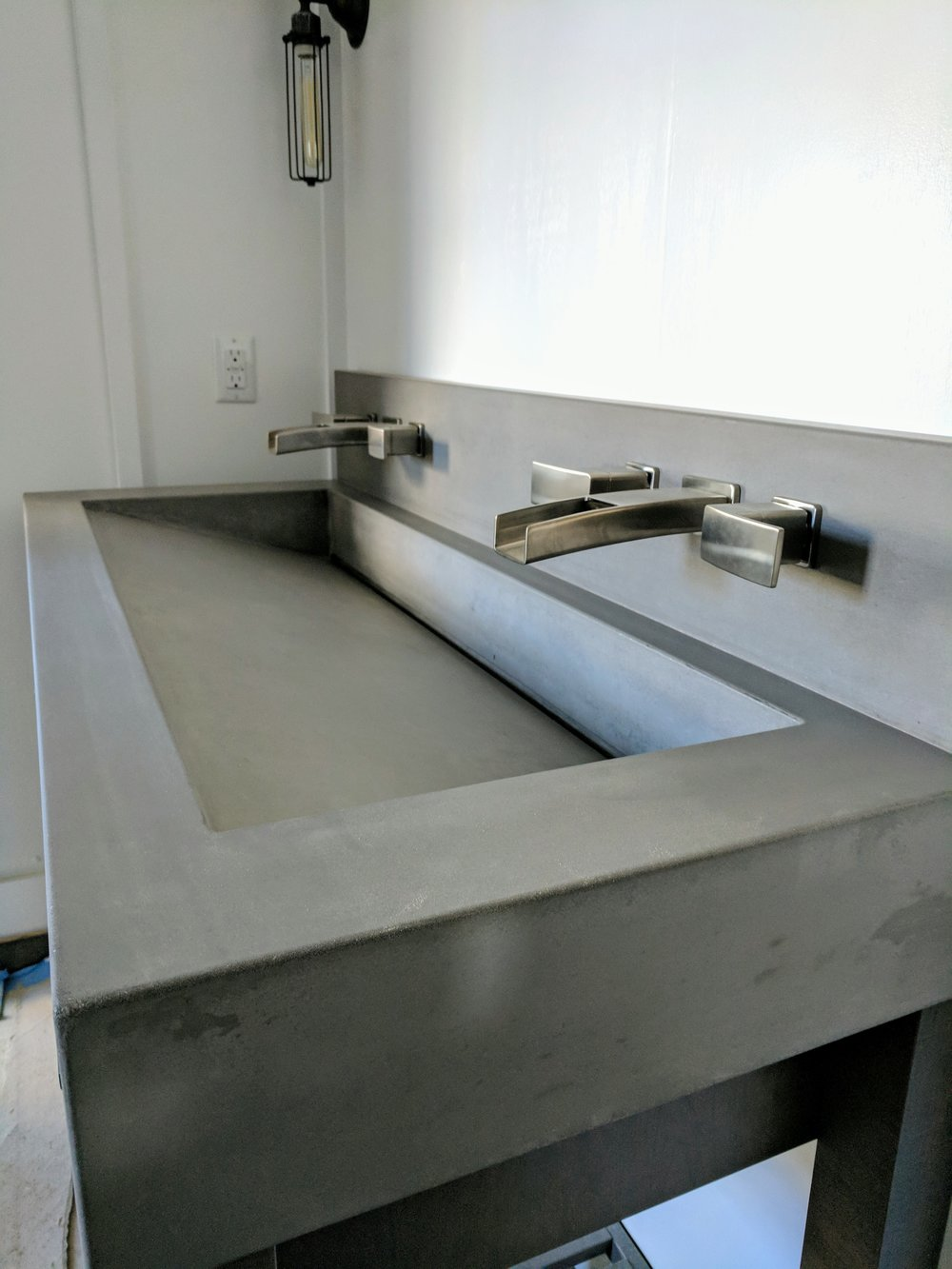 Ramp Sink w/ Slot Drain - Project with Cozy Kitchens Group