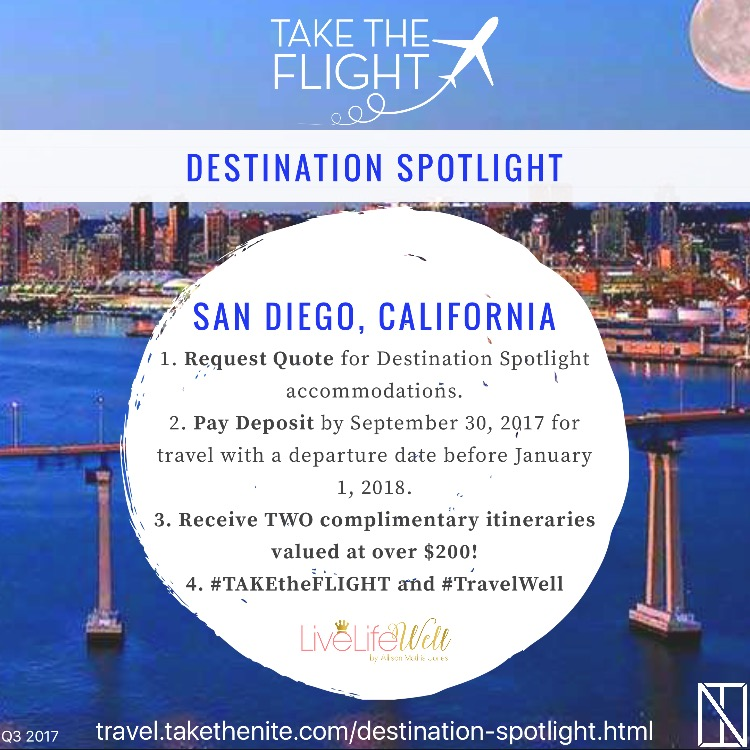 Each quarter, a different destination will be highlighted. Travelers who book vacations to the Destination Spotlight location will receive two complimentary sample itineraries: an Economy Option and a Splurge Option. Itineraries will include Live Life Well's top picks of where to dine, shop, and play. Details regarding the length and estimated budget of each itinerary can be found in the details on the spotlight page.