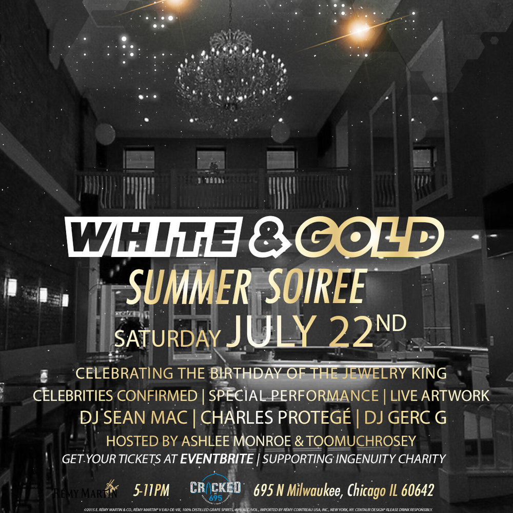 #WhiteAndGoldSoiree