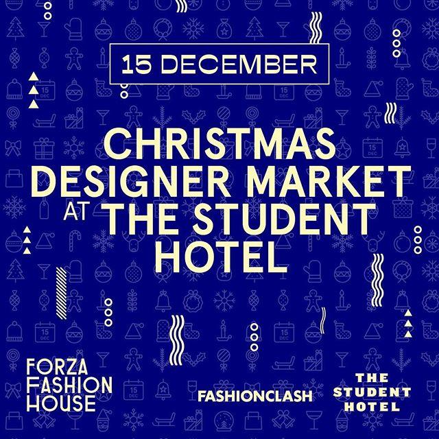 It's the most wonderful time of the year!🎄 Op zaterdag 15 december organiseert @fashionclash_festival in het kader van het Forza Fashion House Maastricht, een Christmas Designer Market waar je kleding, sieraden en accessoires van zestien (lokale) ontwerpers kunt kopen bij een van Maastricht's nieuwste hotspots, The Student Hotel. Entree is gratis! @tsh_maastricht #ffh #fashionclash #christmasdesignermarket #buylocal #youngdesigner #christmasshopping #maastricht #visitmaastricht