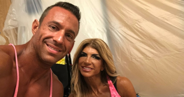 Gil with Teresa from Housewives of NJ.