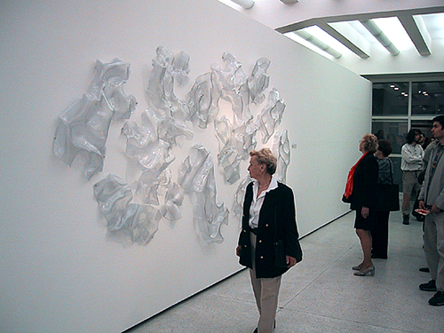 "Installation view of ""Eclipse"" at The National Gallery in Prague, Czech Republic"