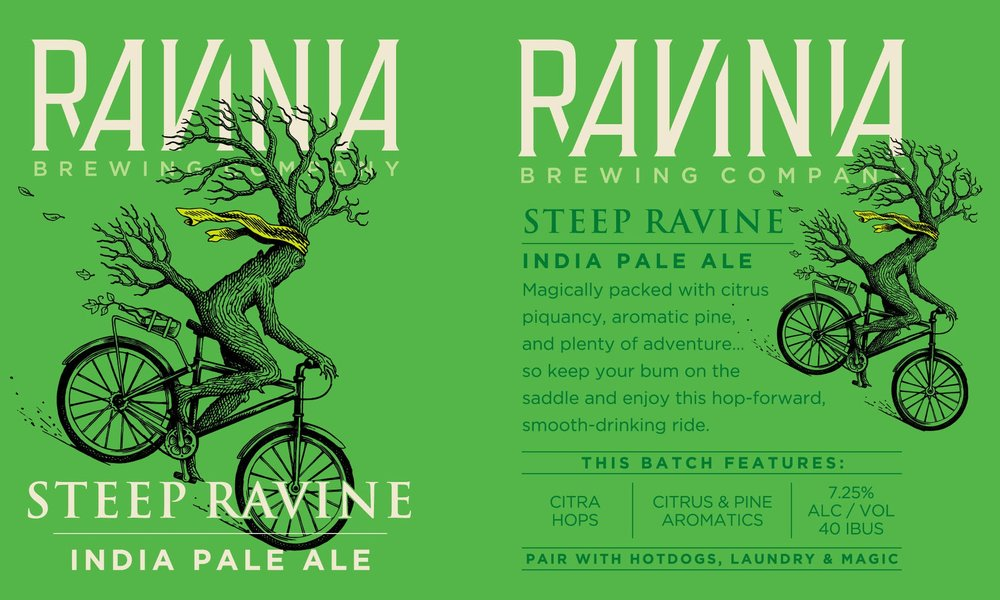 Ravinia Brewing_Poster_Steep Ravine.jpg