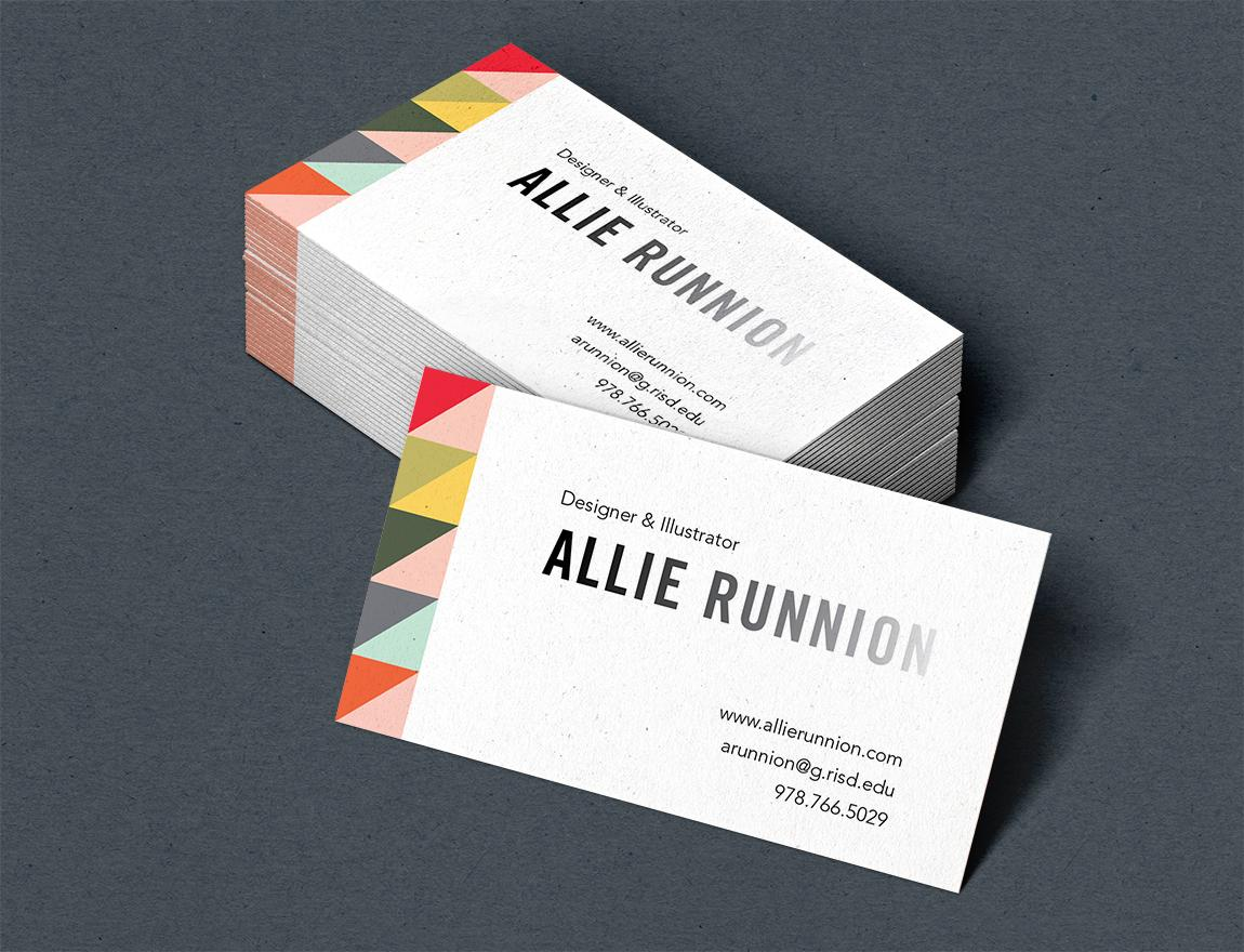Graphic design student business cards images card design for Architecture student business cards