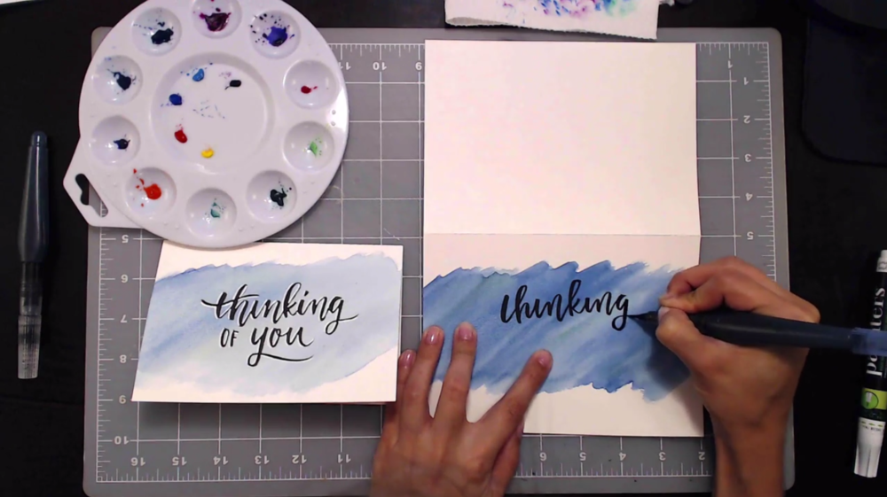Teela Cunnigham's class, Waterbrush Lettering Essentials