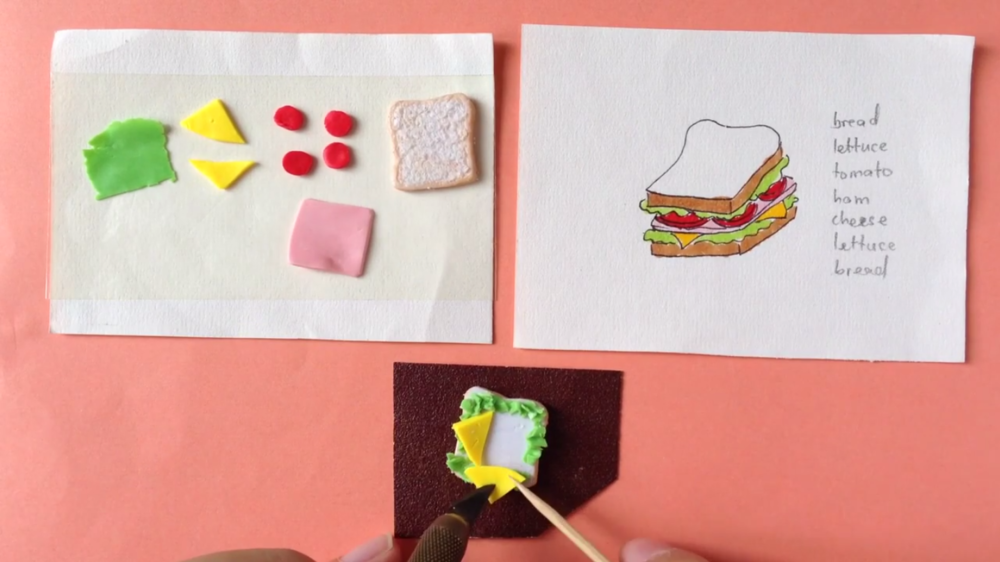 Mabel Low's class, DIY | Clay Sculpting: Create Your Own Mini Sandwich