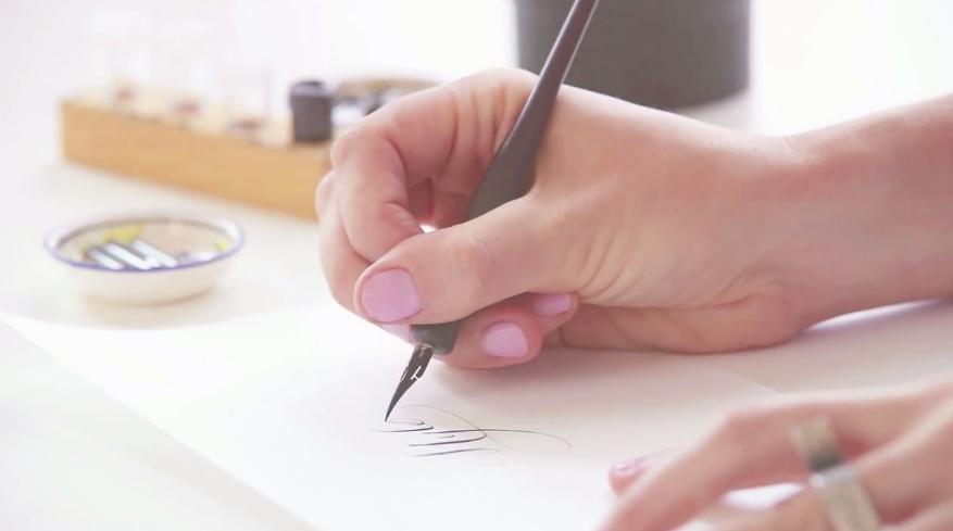 DIY Calligraphy for Wedding Invitations Skillshare Blog – Learn Calligraphy Wedding Invitations