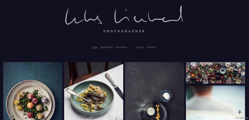 Lukas online design portfolio