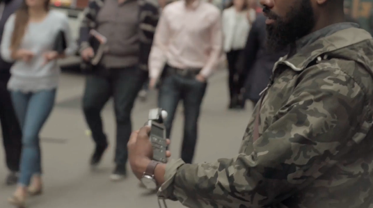 Andre D. Wagner  shares how he uses a light meter on the streets of NYC.