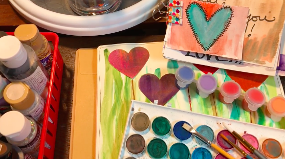Art Journaling Basics for Healing, Hope and Fun by Diane Cunningham