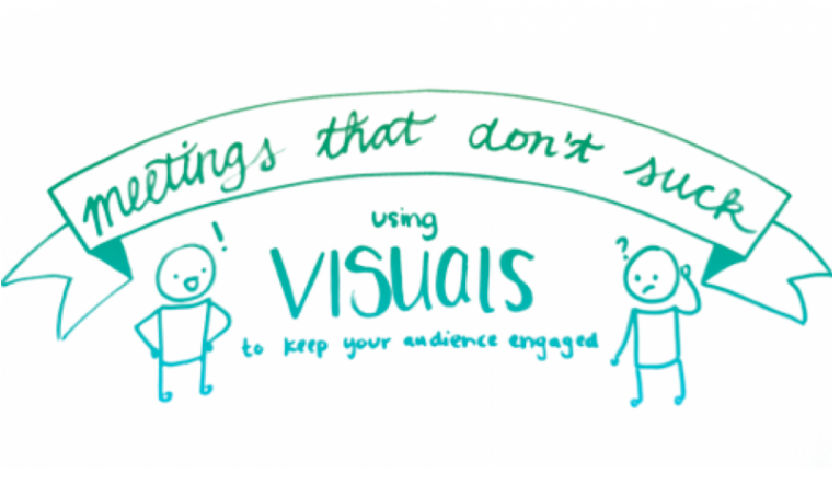 Meetings That Don't Suck: Using Visuals to Keep Your Audience Engaged by Bee Sharwood