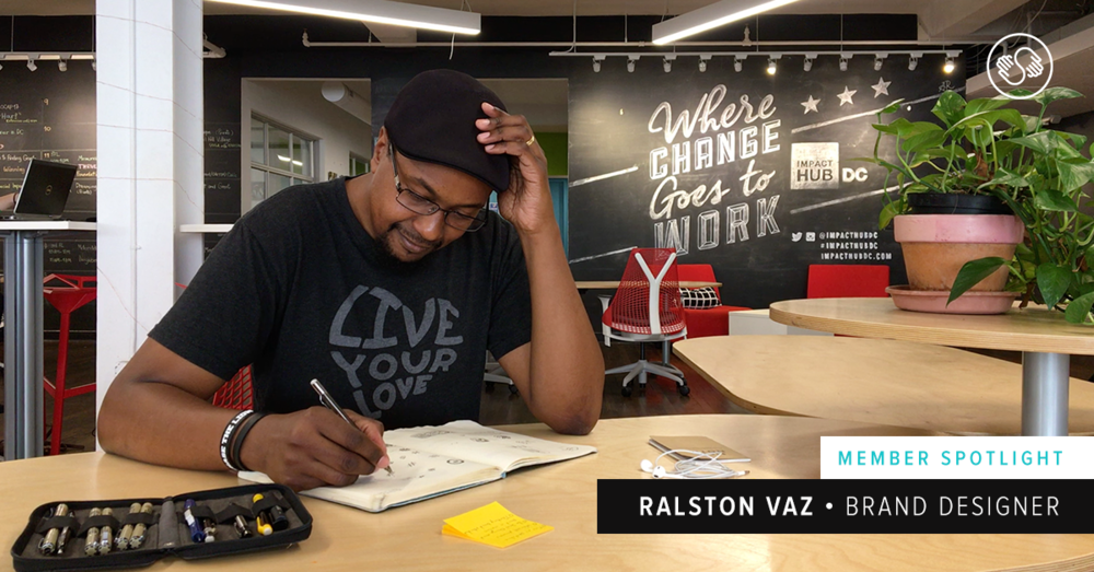 Member Spotlight: Ralston Vaz, a Brand Designer with Social Purpose