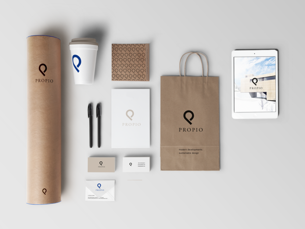 Brand Identity for PROPIO by nnorth on 99designs