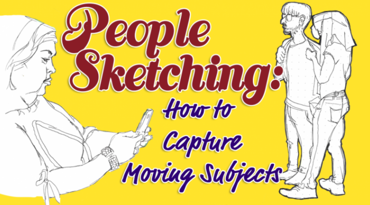 Nathalia  is going to share her best practices for drawing people when they are in motion.