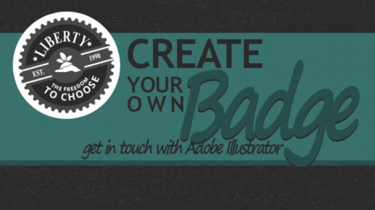 Create custom badges in Adobe Illustrator with Alexander.