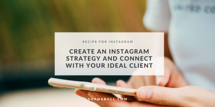 Tips for finding success on Instagram by  Shana Bull