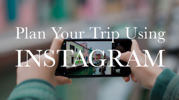 Taking a trip soon?  Rebekah  will help you plan a perfect itinerary using Instagram