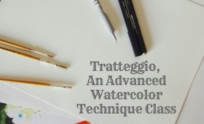 Tania will guide her students toward taking their watercolor skills to the next level.