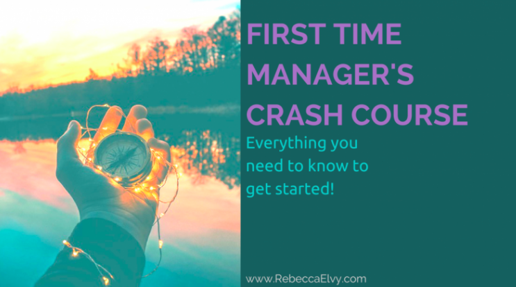 Rebecca will help new managers get up to speed.