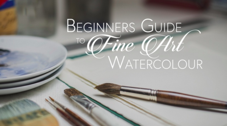 Adam will help his students become more familiar with watercolour techniques.
