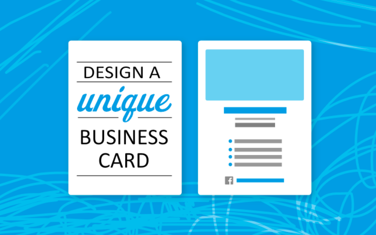 Heather will show students how to make a unique business card.