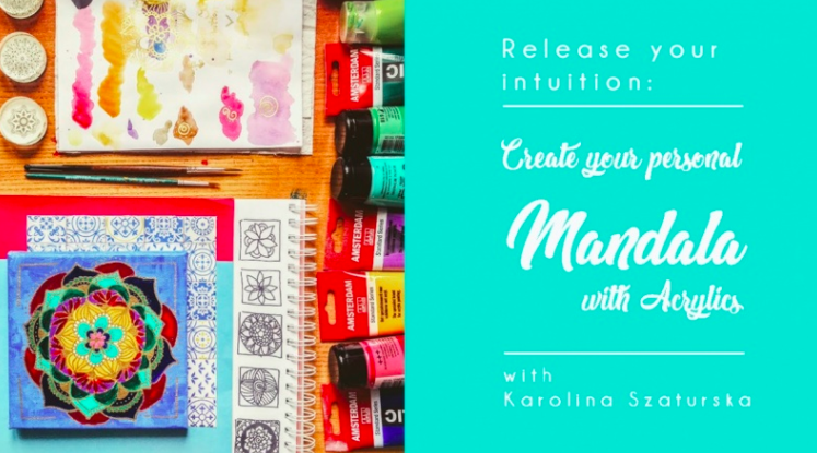 Karolina  will help you create a personal mandala.