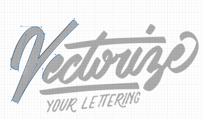 Vectorize your hand lettering with  Jeremiah .