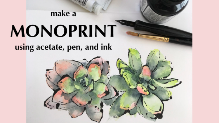 Lisa  will share her monoprinting technique show you how to color your print.