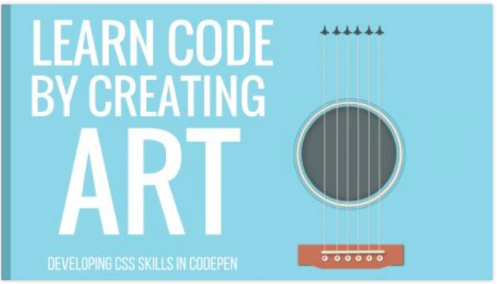 Learn intermediate and advanced CSS while creating an art project with Christina