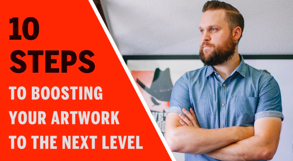 Brad shares tips and resources for taking your artwork to the next level