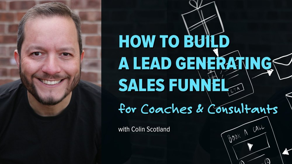 Colin explains how to build email lists and convert clients
