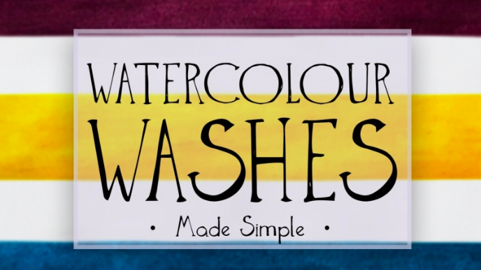 Terese  will help you level up your watercolors with flat, graded, and textured washes.