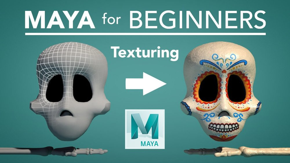 Lucas demonstrates how to add color and texture to 3D models in Maya