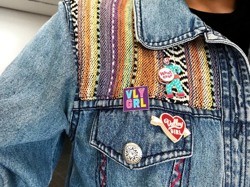 Pin designs by Alisa Damaso