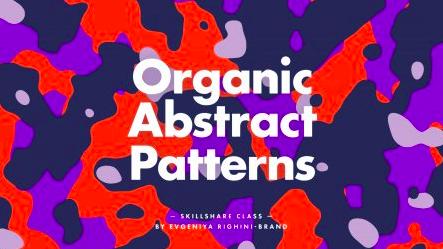 Creating organic abstract patterns