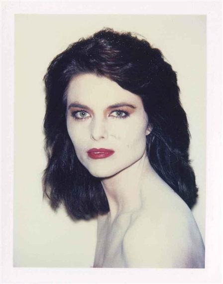 Maria Shriver,  Andy Warhol ( image source )
