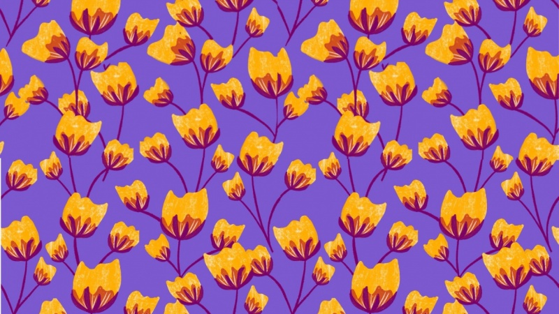 Repeat Pattern by Skillshare student Amy M., for a Skillshare class on  creating repeat patterns  with Peggy Dean