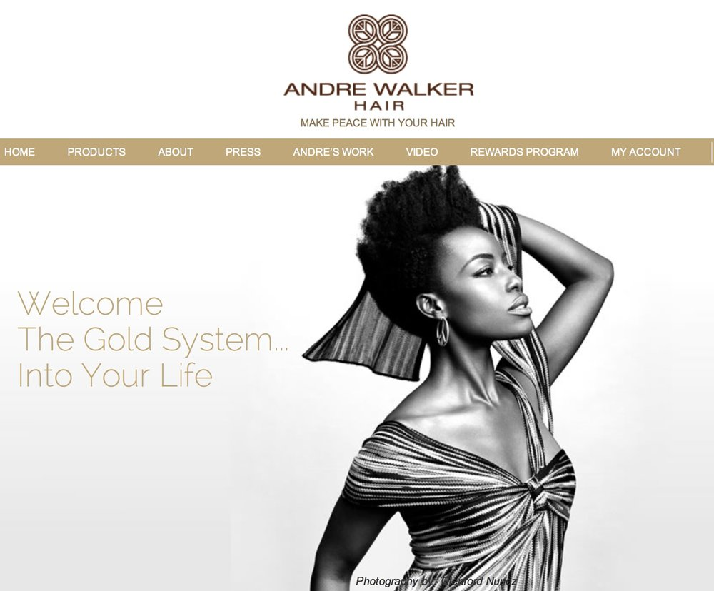 Product/Campaign: Andre Walker Hair   Client/ Owner/Hairstylist: Andre Walker  Photographer: Glenford Nunez