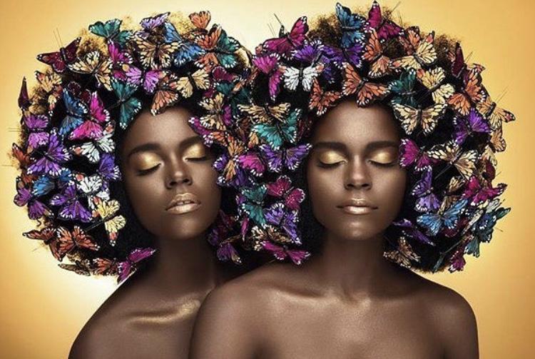 Photographer: Joey rosado ( @islandboiphotography ) MUA/ creative director: @moshoodat Hairstylist: Kamilyah (@mshairandhumor) Butterflies done by: @moshoodat and @mshairandhumor