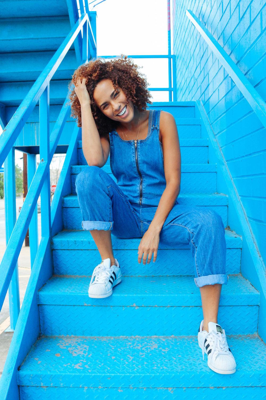 Jasmine stair smile.jpg