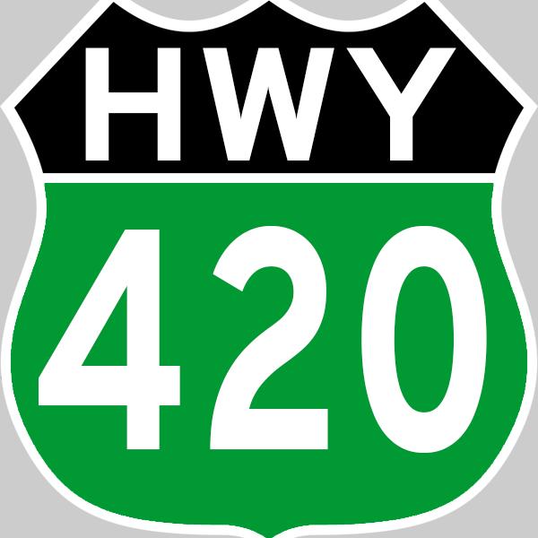 Highway 420 Logo.png
