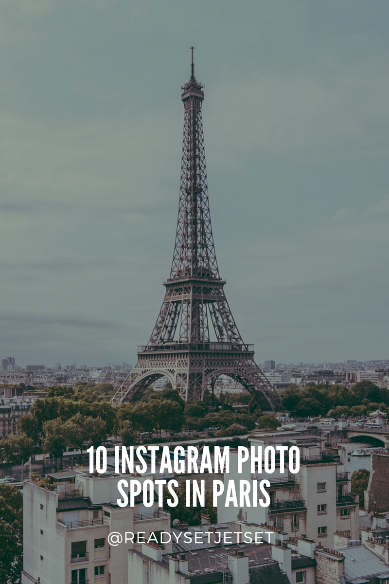 10 Instagram Photo Spots in Paris That You Have To Visit // #readysetjetset #paris #france #photoguide www.readysetjetset.net