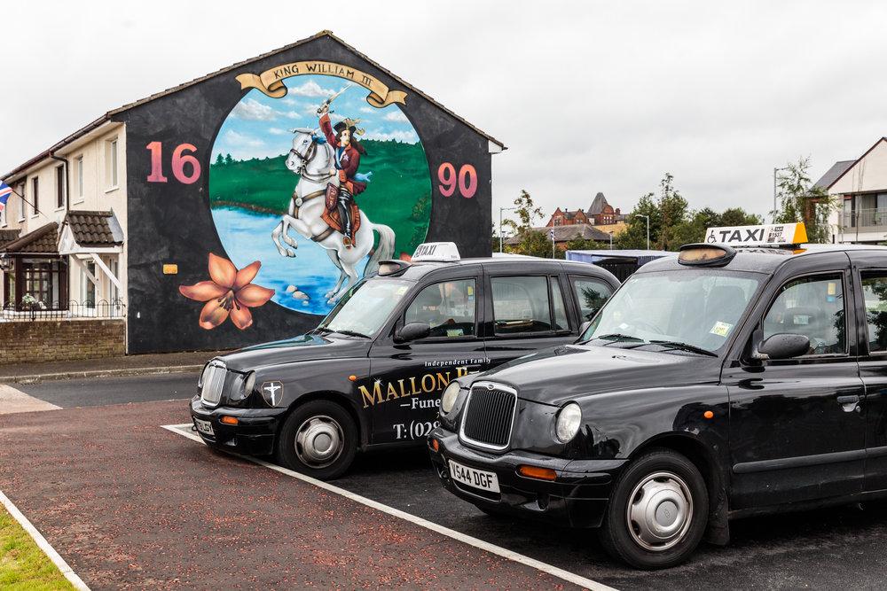 Black Cab Tour of Belfast