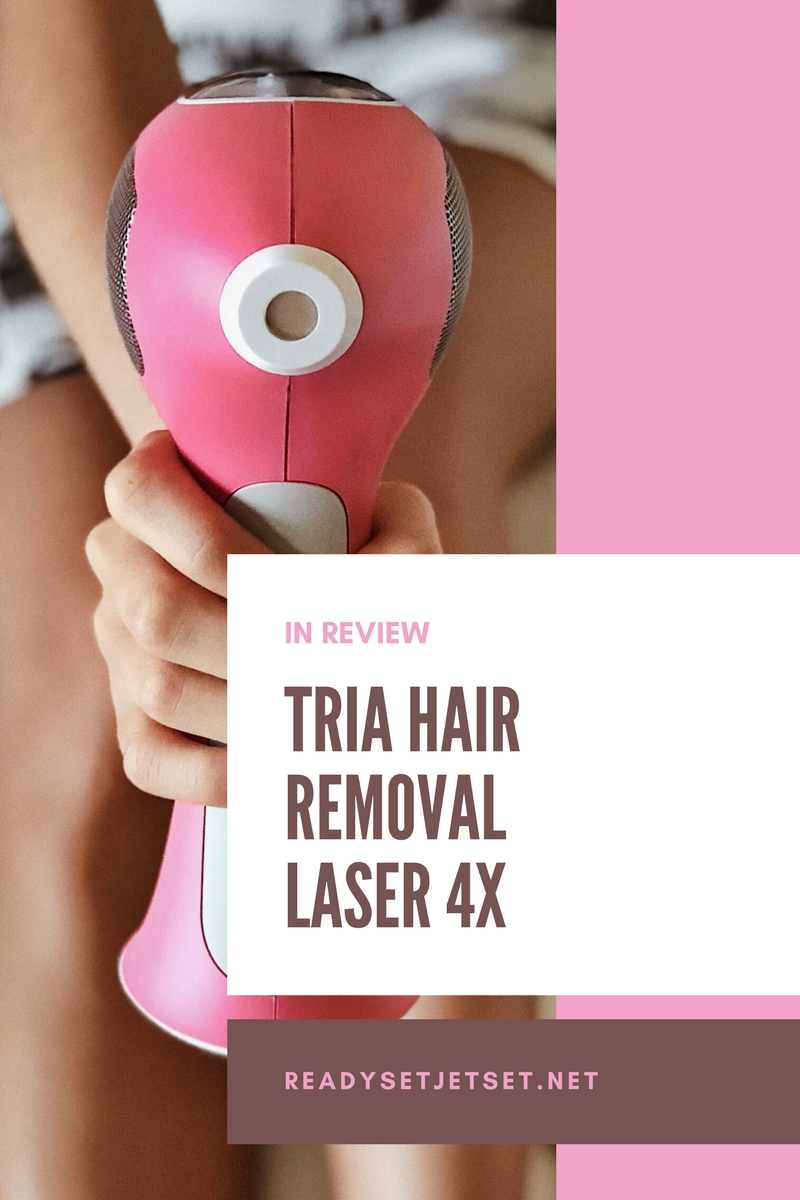 Beauty Review: Tria Hair Removal Laser 4X // #readysetjetset #productreview #tria #beauty readysetjetset.net