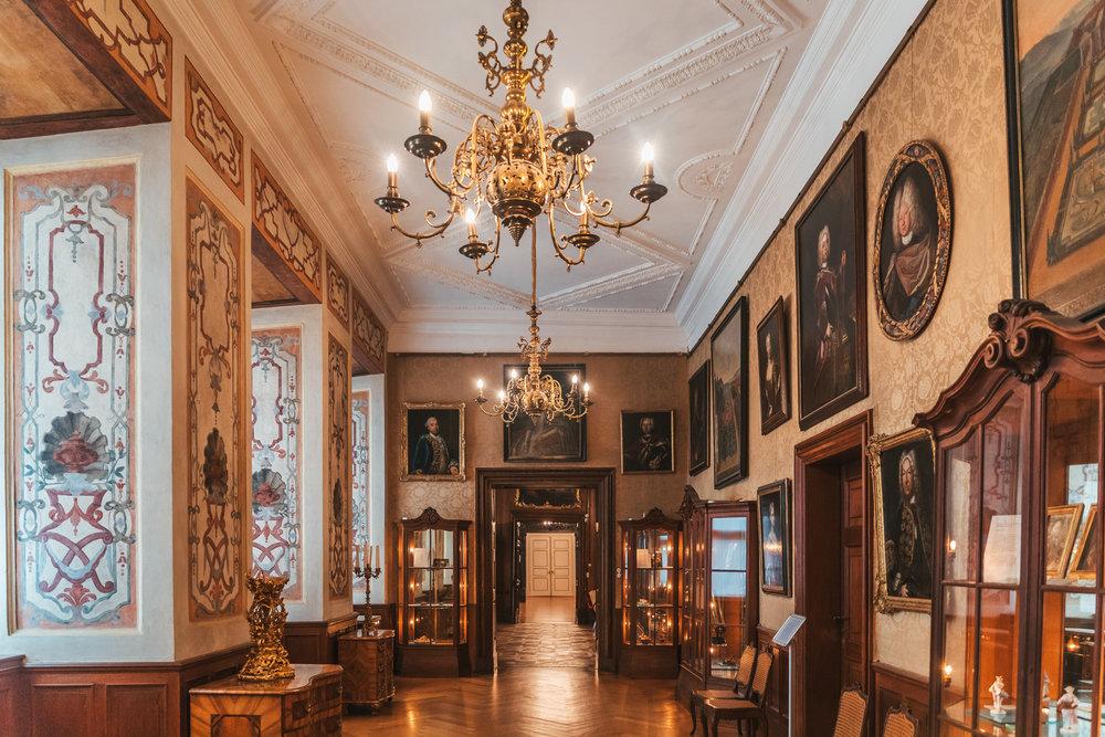 Inside Friedenstein Palace