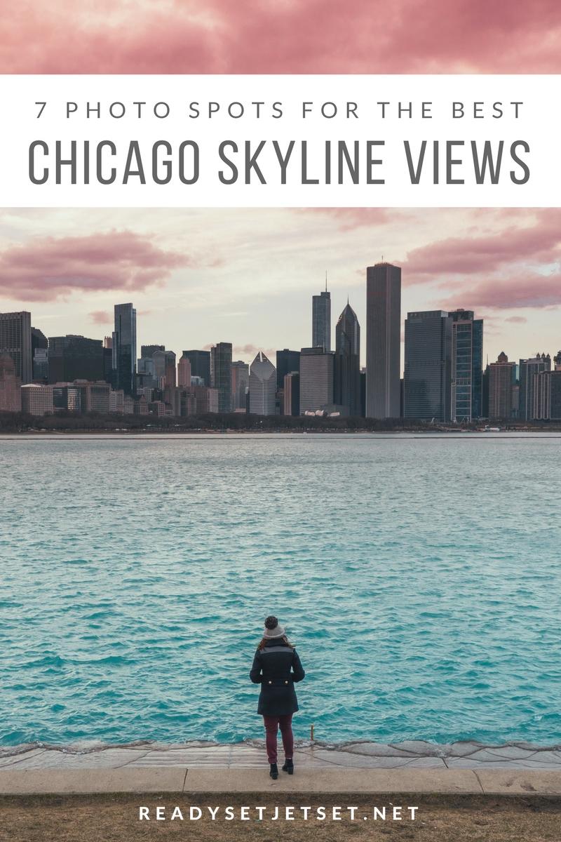 7 PHOTO SPOTS FOR THE BEST CHICAGO SKYLINE VIEWS // www.readysetjetset.net #readysetjetset #chicago #illinois #usa #travel