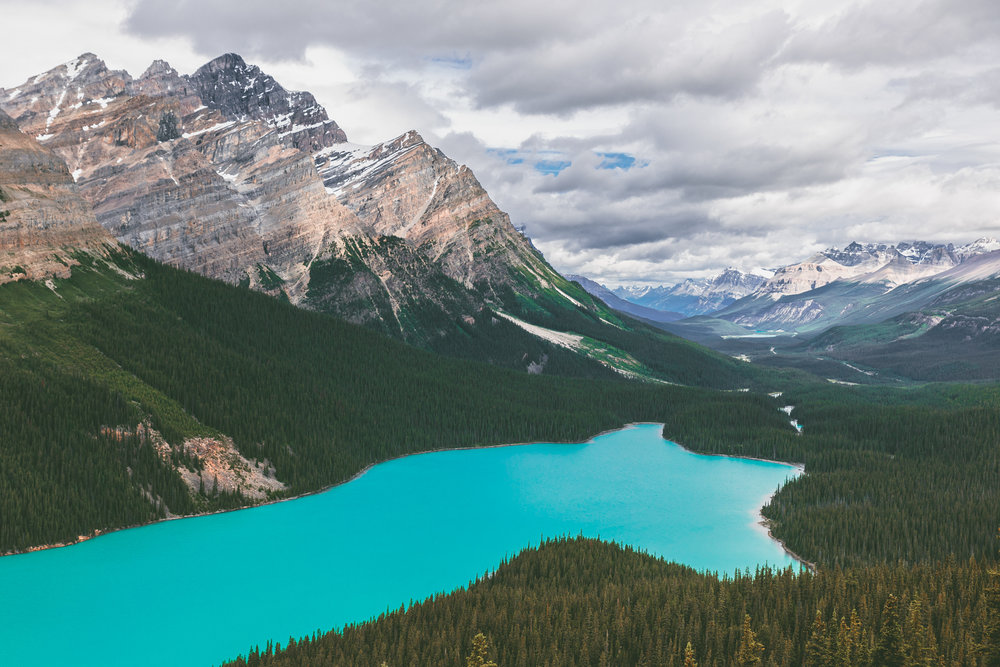 5 Must-Visit Spots in Banff and Jasper National Parks in Alberta, Canada // www.readysetjetset.net #readysetjetset #alberta #canada #banff #jasper