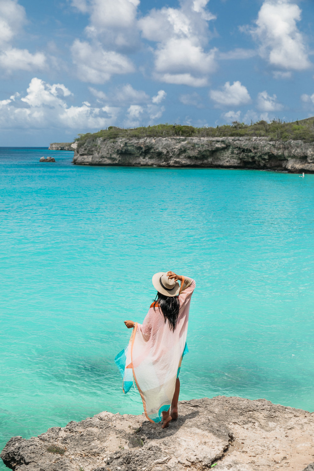 Playa Knip on Curaçao // 20 Photos to Show You Why Curaçao Needs to Be On Your Travel Radar // www.readysetjetset.net #readysetjetset #curacao #caribbean #beach #ocean #paradise #travel