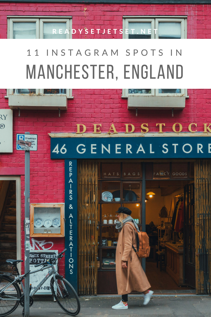 11 INSTAGRAM-WORTHY PHOTO SPOTS IN MANCHESTER, ENGLAND // www.readysetjetset.net #readysetjetset #manchester #england #uk #unitedkingdom #cityguide #travel
